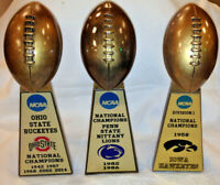 "LARGE 15"" ALL SCHOOLS COLLEGE UNIVERSITY  NCAA NATIONAL CHAMPIONSHIP FOOTBALL"