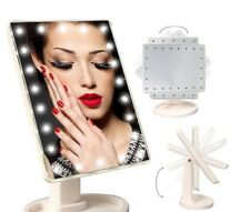 Vanità specchio illuminato a LED Touch Screen make up cosmetici da tavolo