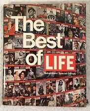 The Best of Life Subscribers' Special Edition Magazine Vintage Coffee Table Book