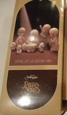 Precious Moments Llegan Dejar Eeuu Adore Él 1979 Mini 9 Piezas Natividad Juego