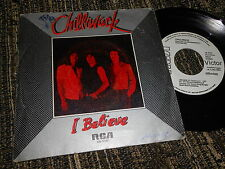 "CHILLIWACK I believe/Living in Stereo 7"" 1982 PROMO SPAIN SPANISH edition"