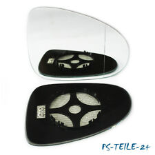Spiegelglas für VW TOUAREG II ab 2010 rechts asphärisch beheizbar elektrisch