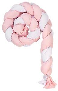 Riduttore Lettino Bombolino a Treccia Picci Aria col. Bianco Rosa PC56004202