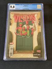 VISION #1 CGC 9.8 - 1st Virginia, Vin, & Viv Vision - Marvel Comics (2016)