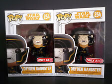 Funko Pop! Star Wars Dryden Gangster Target Exclusive #254