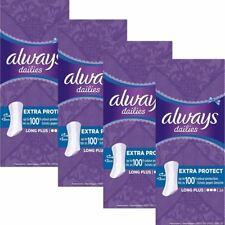 Sempre quotidiani Panty FODERE lungo Spina Extra protezione odore neutralizzare, confezione da 96