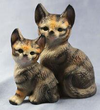 Katze  Figur Katzenfigur Porzellan keramik porzellanfigur katzen