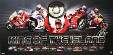 MotoGP World Champ Casey Stoner King of the Island Ltd Ed Poster Print Only 1000