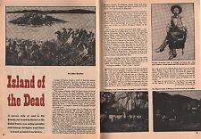 Texas Ranger George Arrington - Island of the Dead+Rogers*Brooks*,Qualey