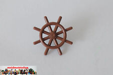 Lego ® Pirates Ship Boat Rudder Steering Wheel Brown 4790 from Set 6286 6285 10040