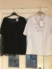 Ladies Clothes Size Medium Zara Tops X2 One New (362)