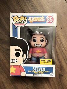 Funko Animation STEVEN UNIVERSE #85 Steven Hot Topic Exc. Glow In The Dark POP!