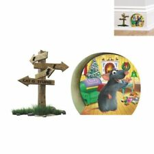 Christmas Mouse Wall Stickers Art Vinyl Decal Mural Room Home Decor Removable