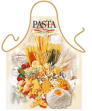 Italian Pasta mix kitchen apron cooking tools unisex one size Polyester ITATI
