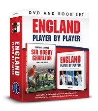 ENGLAND FOOTBALL LEGENDS SIR BOBBY CHARLTON WORLD CUP WINNER DVD & BOOK GIFT SET