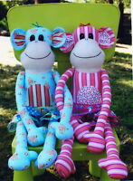 PATTERN - Magoo - fabulous softie monkey PATTERN from Melly & Me
