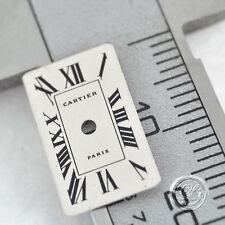 luxus4life: Cartier Zifferblatt für TANK Gold XXXS 15,8x9,8mm  Weiß - NEU!
