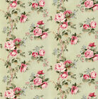 Dolls House Wallpaper 1/12th 1/24th scale Green Quality Paper #57
