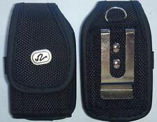 V014 Vertical Extra Small Cell Phone Flip Phone Case w Belt Loop, & Clip
