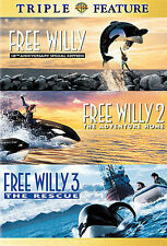 Triple Feature: Free Willy/Free Willy 2 - The Adventure Home/Free Willy 3 - The