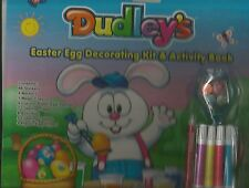 Dudley's Easter Egg Decorating Kit & Activity Book