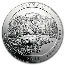 2011 5 oz Silver ATB Olympic National Park, WA - SKU #62425