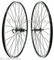 Mavic Open Pro 700c Road Bike Black Wheel Set Shimano 105 Hub 8-11 Speed Black