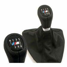 BMW Sport-Leder-Schaltknauf mit Manschette im M-Design 6-Gang