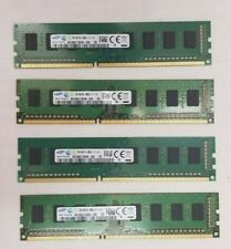 LOT OF 4 Samsung RAM 8GB (4x2GB ) 2Rx8 PC3-12800U M378B5273DH0-CK0 /USED