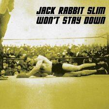 Jack Rabbit Slim - Won't Stay Down [New CD]