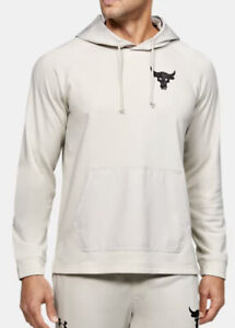 Under Armour Project Rock Terry Men's Quick-Dry Hoodie 1355633 $70 VARIOUS SIZES