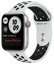 Apple Watch Series 6 Nike 44mm Aluminiumgehäuse mit Pure Platinum/Schwarz...
