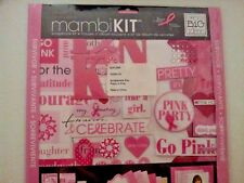 "MAMBI Scrapbook Kit 12""x12"" Think Pink Breast Cancer"
