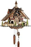 Maison de la Forêt 41cm- Coucou Pendule à Coucou Bois Véritable Neuf