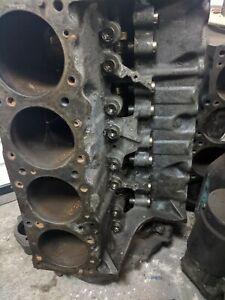 1958 Pontiac 370 engine V8 block crank heads