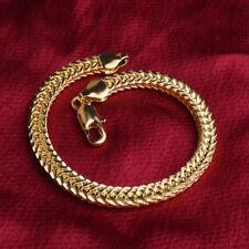 Femmes de Charme Fashion Lady 18K plaqué or blé Bracelet chaîne Bijoux Bracelet