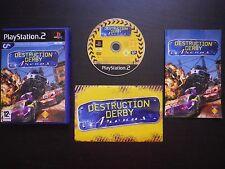 JEU Sony PLAYSTATION 2 PS2 : DESTRUCTION DERBY ARENAS (complet, envoi suivi)