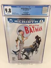 All Star Batman #1 CGC 9.8 White Pages Dynamic Forces Edition