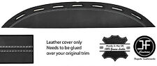 WHITE STITCH TOP VENT DASH DASHBOARD LEATHER COVER FITS FERRARI TESTAROSSA 84-91