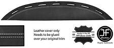 Bianco Cuciture Top SFIATO DASH Dashboard Leather COVER ADATTA PER FERRARI TESTAROSSA 84-91