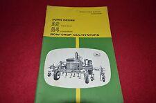 John Deere A2 A4 Cultivator Operator's Manual Gdsd6