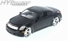 JADA 1:24 DUB CITY INFINITI G35 DIE-CAST BLACK 90290 N/B