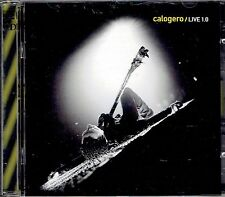 CD - CALOGERO - LIVE 1.0