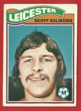TOPPS FOOTBALLERS 1978 - ORANGE BACK TRADE CARD 393 - GEOFF SALMONS  (OK03)