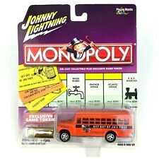 Johnny Lightning 1956 56 Chevy Bus Monopoly Get Out Of Jail Free Die Cast 1/64
