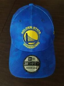 New Era Cap Golden State Warriors 39Thirty medium - large blue & yellow hat NEW