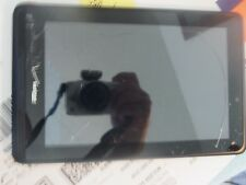 "Verizon Wireless QMV7A  7"" HD 4G LTE Android WiFi Tablet 8GB AS IS NO DISPLAY"