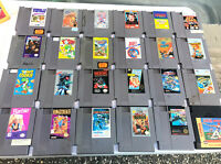 Nintendo NES Lot Of 24 Games Untested ! As Is Read Description