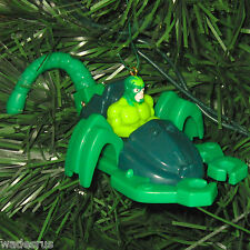 Spiderman Scorpion Stingstriker Green Car - Custom Christmas Tree Ornament Decor