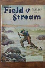 Vintage Field & Stream Magazines August The Big Duck Argument Lynn Bogue Hunt